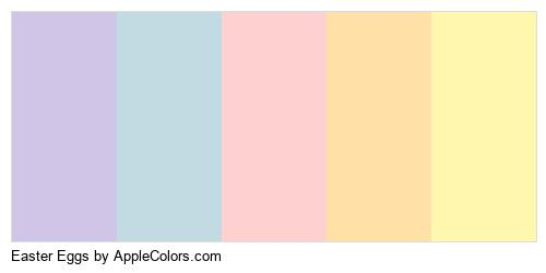 Easter Eggs Logo Colors Logo